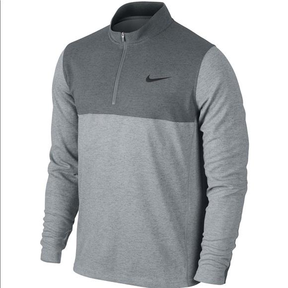 0a657b49ef21 Men s Nike Dri-Fit 1 2 Zip Golf Pullover Jacket